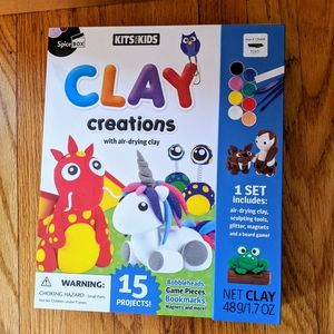 Clay Creations. Ages 8 and up. NWOT